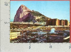 CARTOLINA VG GIBILTERRA - La Linea De La Conception - Plaza Del Generalisimo - Penon Gibraltar - 10 X 15 - ANN. 1975 - Gibilterra