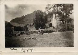 -size -format 15cms X 10,5cms -ref :U69- Bolivie -bolivia - Carte Photo Italaque -plaza Templo - - Bolivie