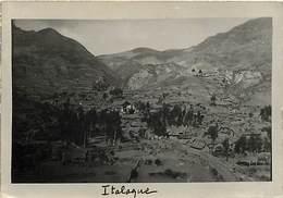 -size -format 14,5cms X 10cms -ref :U66- Bolivie -bolivia - Carte Photo - Italaque -carte Photo Bon Etat  - - Bolivie