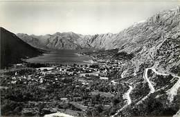 -size -format 14,5cms X 10cms -ref :U60- Montenegro - Kotor  - Carte Bon Etat   - - Montenegro