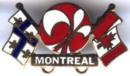 Pin´s Broche EGF - MONTREAL Québec Canada Drapeau - Città