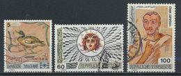 °°° TUNISIA - Y&T N°816/19/21 - 1976 °°° - Tunisia (1956-...)