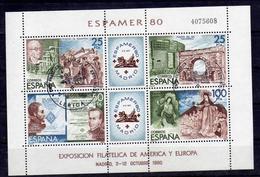 Spanien, 1980, Block 21, Gestempelt Mit SST [080117StkKI] - 1931-Hoy: 2ª República - ... Juan Carlos I