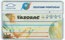 PHONECARDS-- PORTUGAL-OPTICAL-30U TAZOBAC BATCH--309C - Portugal
