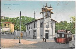 TOSCANA Grosseto - Montenero -Funicolare+ Tram+ Pubblicità Primi 900 RARA - Altre Città