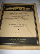 Joseph Haydn - Scores & Partitions