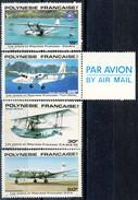 Polynesie Posta Aerea 1980 Serie N. 156-159 MNH Cat. € 5.50 - Ungebraucht
