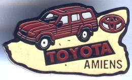 Pin's Voiture Auto TOYOTA Amiens - Toyota