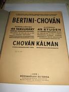 Bertini-Chovan - 45 Etuden - Scores & Partitions