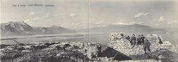 -size -format 14cms X 10cms -ref :U45 -italie -italia -italy -carte 2 Volets -lago Di Garda -capa Manerba  - - Italia