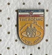 Folklore Dance Slovenia - Tine Rozanc Ljubljana,Yugoslavia Flag - Pins