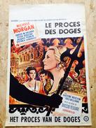 """Le Procès Des Doges """"Michèle Morgan """"1963 - Affiches & Posters"""