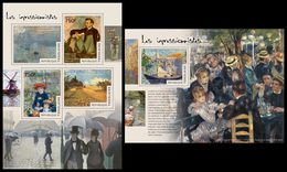 TOGO 2014 - Impressionists; CV = 31 € - Impressionisme