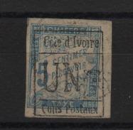 Côte - D'Ivoire_ Timbres Taxe _ 1F S 5c  Bleu   N°9   _ 1903