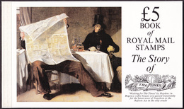 GREAT BRITAIN UK Prestige Booklet «The Story Of The Times» MNH (Mi# 71 - SG#DX6). Perfect Condition - Markenheftchen