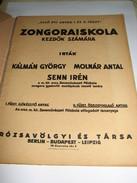Zongoraiskola Kezdok Szamara I. - Scores & Partitions