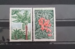 Madagascar, 1969, Mi: 603/04 (MNH) - Arbres