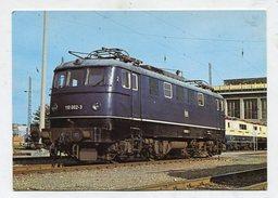 TRAIN  - AK292726 DB - Elektrische Schnellzug-Lokomotive 110 002-3 Im AW München-Freimann - Trains