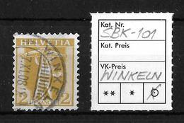 1907-1909 TELLKNABE (neue Zeichnungen) → SBK-101, WINKELN 7.XI.08 - Gebraucht