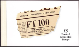 GREAT BRITAIN UK Prestige Booklet «The Story Of The Financial Times 1888-1988» MNH (Mi# 81 - SG#DX9). Perfect Condition - Markenheftchen