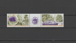 FSAT French Antarctic Territory 1991 Space Environment Set Of 2 With Label MNH