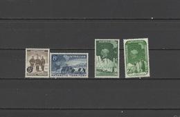AAT Australian Antarctic Territory 1959 Space, Antarctica Set Of 4 MNH