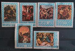PANAMA 1967 Religious Paintings. USADO - USED. - Panama