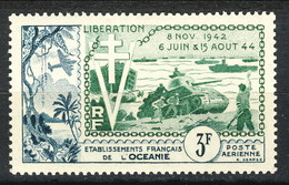 Oceania Posta Aerea 1954  N. 31 MNH Cat. € 10 - Airmail