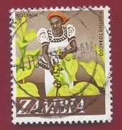 1968 - Zambia - Picking Tobacco - Mi:ZM 44 - Used - Zambia (1965-...)