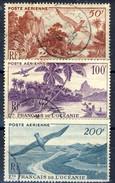Oceania Posta Aerea 1948 Serie N. 26-28 Usati Cat. € 40 - Airmail