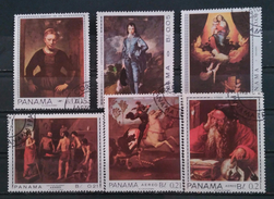 PANAMA 1967 Great Masterpieces And Self-portraits. USADO - USED. - Panamá