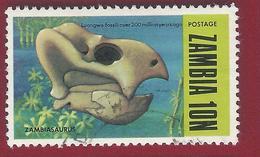 1973 - Zambia - Zambiasaurus - Mi:ZM 99 - Used - Zambia (1965-...)