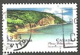 Sc. # 1482 Canada Day, Blomidon Park, Nova Scotia Single Used 1993 K889 - 1952-.... Règne D'Elizabeth II