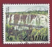1975 - Zambia - Victoria Falls - Mi:ZM 145 - Used - Zambia (1965-...)