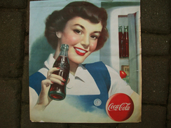 Stampa Anni 50 Pubblicitaria COCA COLA - Advertising Posters