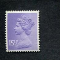 327407899  1982 XX MNH GIBBONS X907 SCOTT MH93  TWO PHOSPHOR BANDS - 1952-.... (Elizabeth II)