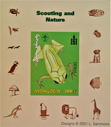 SCOUTISME - GRENOUILLE 2001 - NEUF ** - PH BLSCO04 - NON-DENTELE - RARE !! - Mongolia