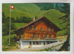 CPSM JAUN (Suisse-Fribourg) - Chalet Korblifluh FERLENHEIM Maison De Vacances E. BUCHS - FR Fribourg