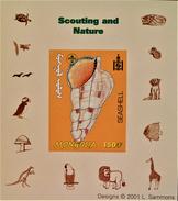 SCOUTISME - COQUILLAGE 2001 - NEUF ** - PH BLSCO04 - NEUF ** - NON-DENTELE - RARE !! - Mongolia