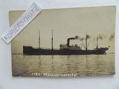 """Dampfer """"Preussen"""" (Hamburg), Marke 8 C Straits Settlements, St. Singappore, 1915 - Commerce"""