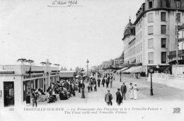 TROUVILLE - La Promenade Des Planches Et Le Trouville Palace - Trouville