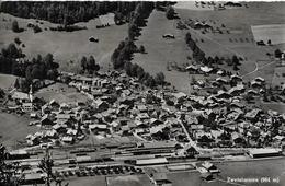 ZWEISIMMMEN → Aufnahme Vom Bahnhofgelände Aus Der Ferne, Fotokarte Ca.1955 - BE Berne