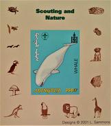 SCOUTISME - BALEINE 2001 - NEUF ** - PH BLSC009 - NON-DENTELE - RARE !! - Mongolia