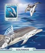 Guinee Bissau / Guinea-Bissau - Postfris / MNH - Sheet Dolfijnen 2016 - Guinea-Bissau