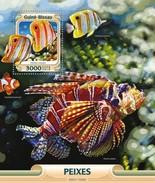 Guinee Bissau / Guinea-Bissau - Postfris / MNH - Sheet Vissen 2016 - Guinea-Bissau