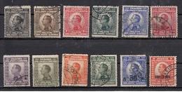 Yougoslavie Roi Alexandre 1er 12 Valeurs - Oblitérés