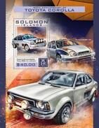 Solomon Eilanden / Solomon Islands - Postfris / MNH - Sheet Toyota Corolla 2016 - Solomoneilanden (1978-...)