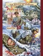 Solomon Eilanden / Solomon Islands - Postfris / MNH - Sheet Strijd Om Moskou 2016 - Solomoneilanden (1978-...)