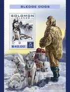 Solomon Eilanden / Solomon Islands - Postfris / MNH - Sheet Sledehonden 2016 - Solomoneilanden (1978-...)