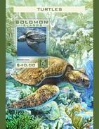 Solomon Eilanden / Solomon Islands - Postfris / MNH - Sheet Schildpadden 2016 - Solomoneilanden (1978-...)